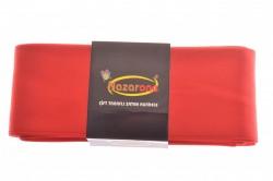 Saténová stuha - červená (š. 6 cm) veľkosť UNI