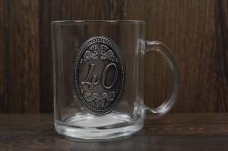 Sklenený pohár na 40. narodeniny (0,3 l)