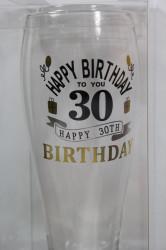 Sklenený pohár na pivo