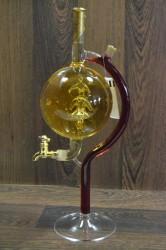 Sklenený výčap vína