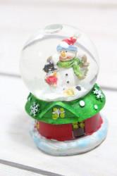Snehová guľa Snehuliak (v. 6,5 cm, p. 5,5 cm)