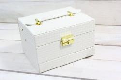 Šperkovnica - maslová 2. (16,5x10,5x12 cm)