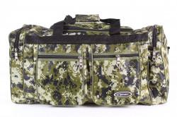 Športová taška 017 (48x29x25 cm) - vzorovaná