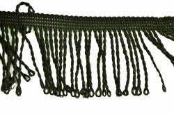 Strapce na záclonu (m) - čierne