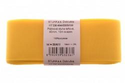 Stuha š.40 mm - žltá