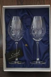 Svadobné poháre so swarovski krištáľmi (VZOR 11.)