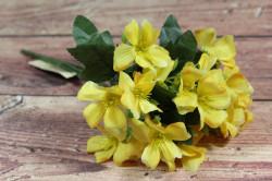 Umelá kytica - žltá (v. 29 cm)