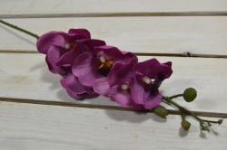 Umelá orchidea - cyklámenová (V:61cm) 058