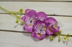 Umelá orchidea - cyklámenová (V:70cm) 073