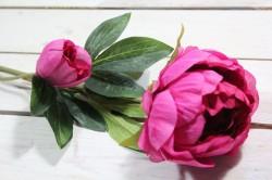 Umelá PIVÓNIA (v. 78 cm) - ružová