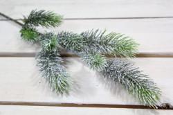 Umelá zasnežená vetvička (v. 50 cm)