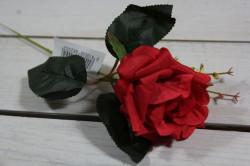 Umelé RUŽE - červené (v. 33 cm)