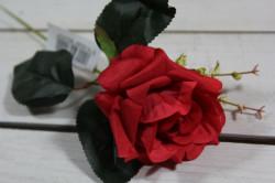 Umelé RUŽE - červené (v. 33 cm) #1
