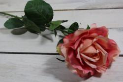 Umelé RUŽE - ružové (v. 75 cm)