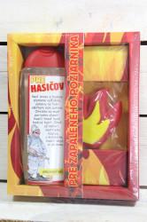 URBAN-darč.balenie pre HASIČA sprchový gel 300 ml+ručne vyrábané mydlo