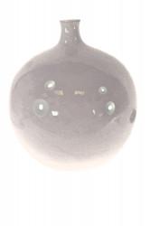 Váza - fialová guľa