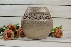 Váza zlatá (v. 20 cm)