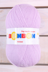 Vlna BONBON (KRISTAL) 98332 - bledofialová (100g-475m)