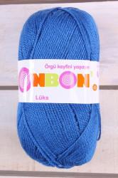Vlna BONBON (LÜKS) 98409 - kráľovská modrá(100g-240m)
