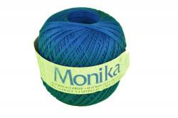 Vlna na háčkovanie Monika 100g - tmavo-modrá