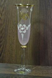 Výročný pohár na 20. narodeniny  ŠAMPANSKÉ - ružový
