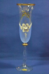 Výročný pohár na 25. narodeniny ŠAMPANSKÉ - modrý