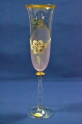 Výročný pohár na 25. narodeniny ŠAMPANSKÉ - ružový
