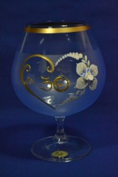Výročný pohár na 30. narodeniny - BRANDY - modrý