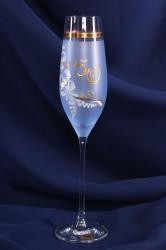Výročný pohár na 50. narodeniny ŠAMPANSKÉ - modrý 2.