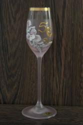 Výročný pohár na 50. narodeniny, ŠTAMPEDLÍK - ružový