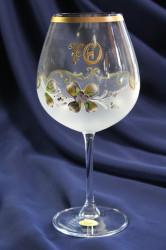 Výročný pohár na 70. narodeniny VÍNO - biely 650 ml