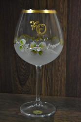 Výročný pohár na 70. narodeniny VÍNO - biely