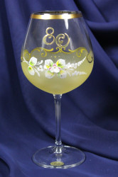 Výročný pohár na 80. narodeniny - VÍNO - žltý