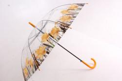 Vystreľovací dáždnik transparentný, ART:POE1315