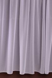 Záclona biela čistá v. 300 cm (m)