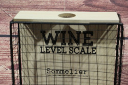 Zberač štuplov WINE LEVEL SCALE (18x32x5,5 cm) #1