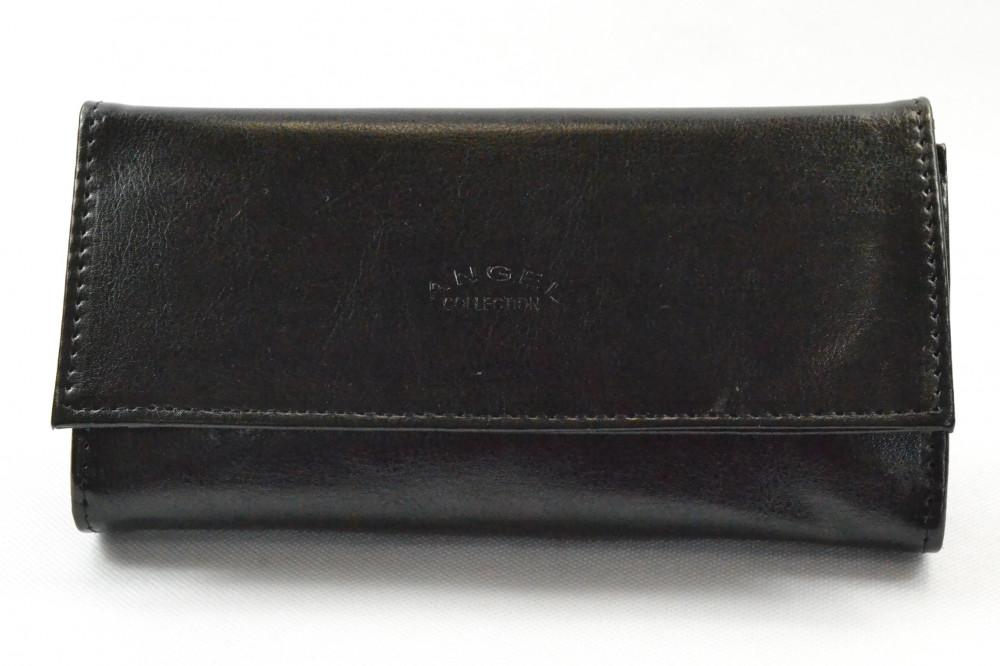 Čašnícka peňaženka ANGEL - čierna (19x10 cm)