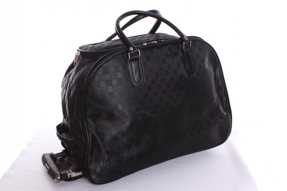 eab4881934930 Cestovná taška na kolieskach veľká VZOR 2. - čierna (53x40x30 cm ...