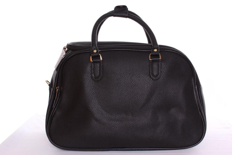 357e347831 Cestovná taška stredná vzorovaná 1. - čierna (45x29x25 cm ...
