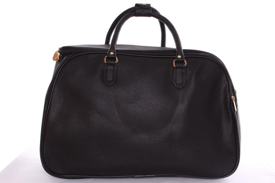 823f6088da Cestovná taška veľká vzorovaná 1. - čierna (50x34x26 cm) - Obyčajné ...