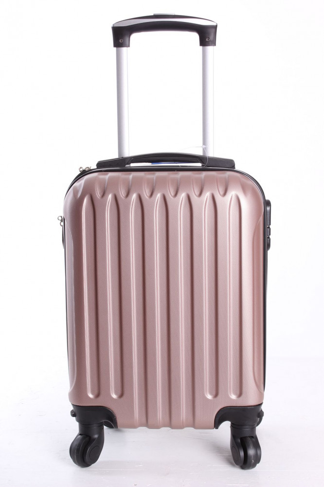 Cestovný kufor LEONARDO DA VINCI - staroružový (32x42x20 cm + 5 cm kolieska)