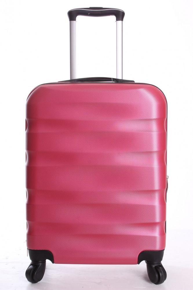 Cestovný kufor malý CABIN (55x40x20  + 5 cm kolieska) - ružový