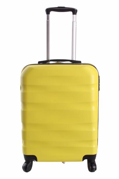 Cestovný kufor malý CABIN (55x40x20 cm + 5 cm) - žltý