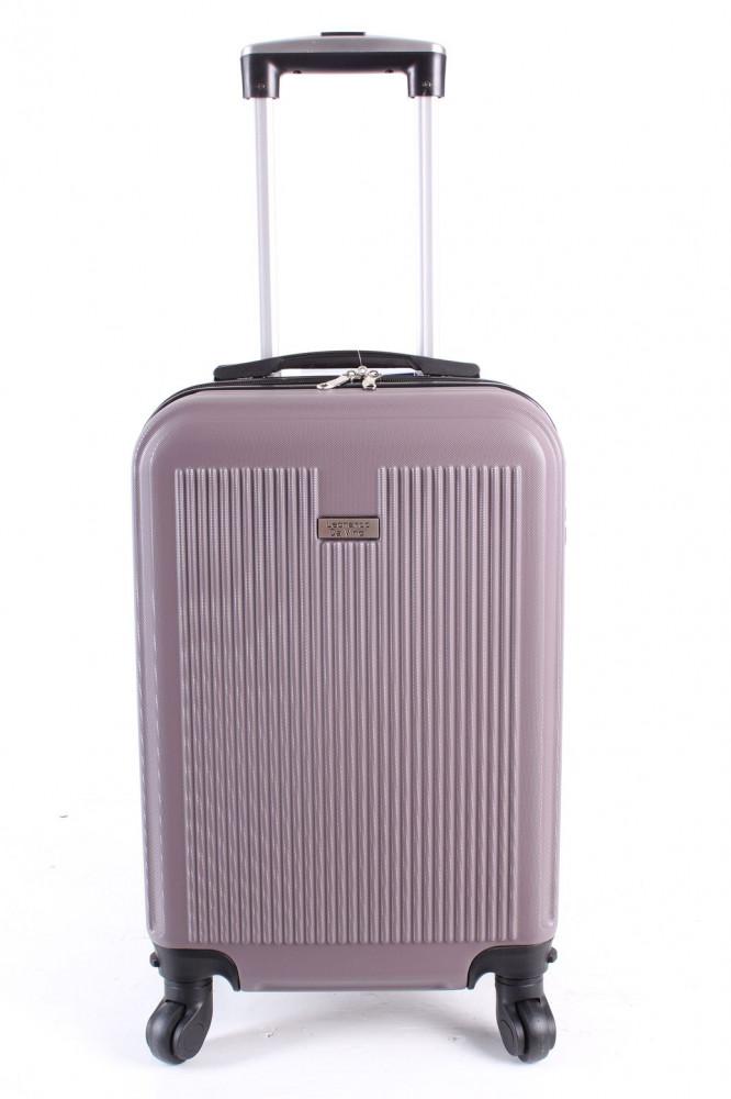 23601b7c8c79e Cestovný kufor malý LEONARDO DA VINCI - fialový (50x35x20 cm + 5 cm  kolieska)