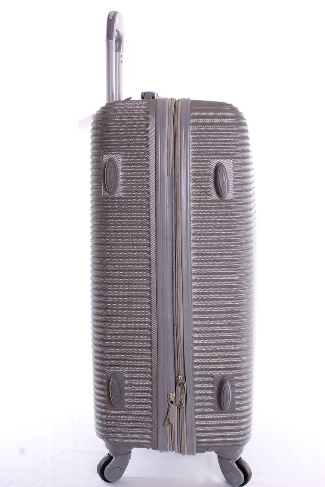 9c0ea27d64f0b Cestovný kufor plastový-veľký-svetlosivý VZOR 3 (70x50x30 cm+kolieska) #