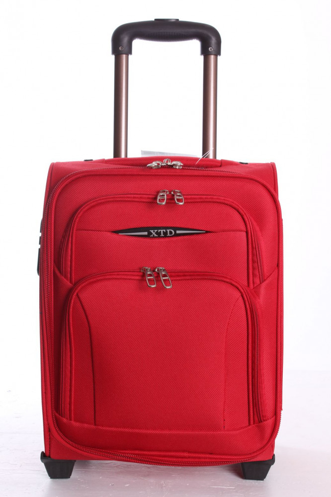 Cestovný kufor XTD malý (43x31x22 cm) - červený