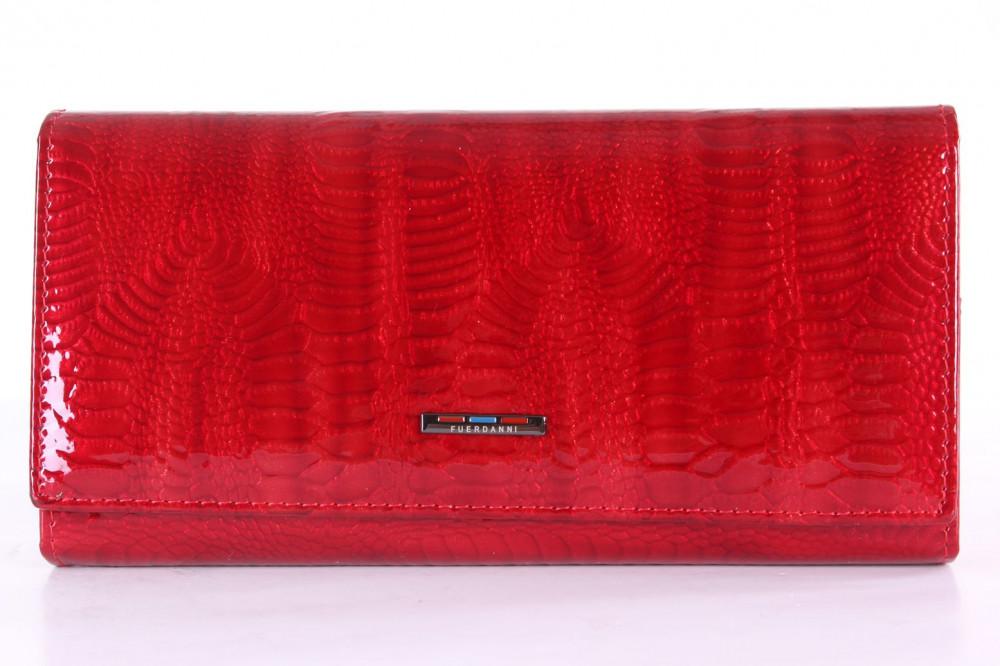 Dámska peňaženka FUERDANNI (80109) - červená (18,5x9 cm)