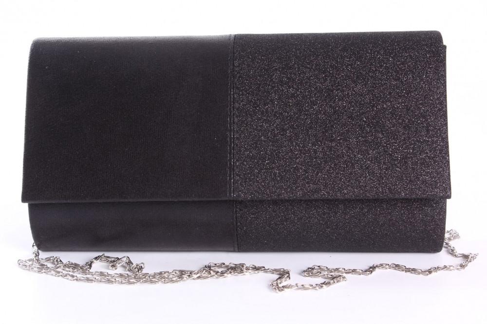 4c786068b8 Dámska spoločenská kabelka (89637) - čierna (23x12x5 cm) - Kabelky ...