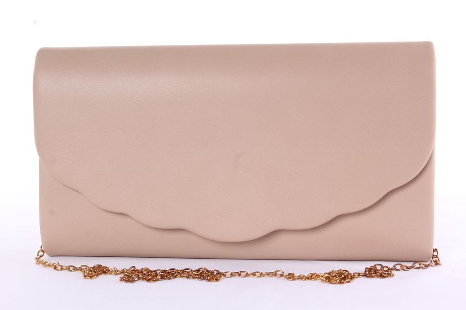 8fa4f569e1 Dámska spoločenská listová kabelka (0297-28) - béžová (27x16x4