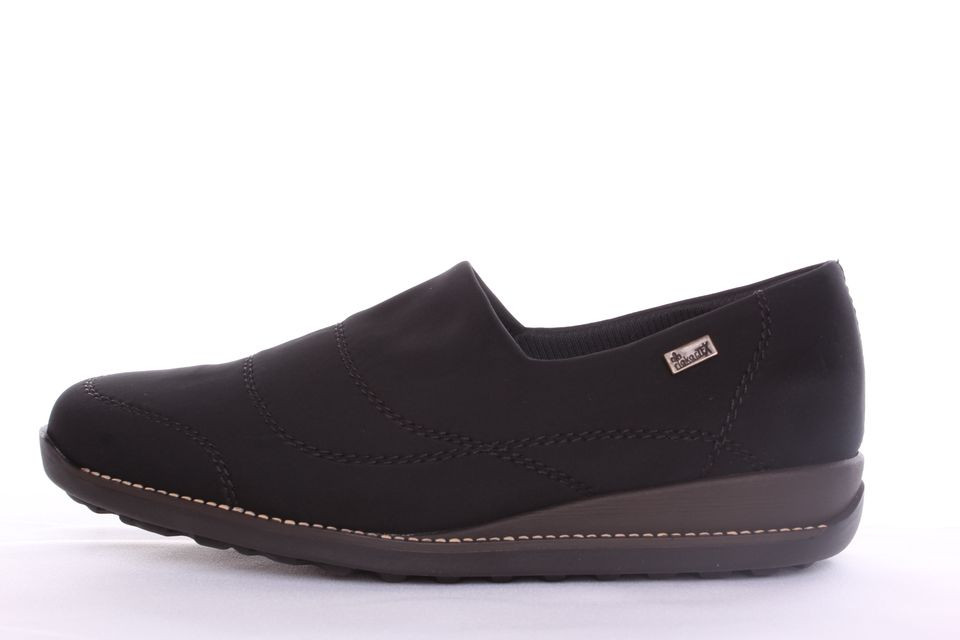 43bcf9965a69 Dámske členkové topánky RIEKER (44260-00) s technológiou Rieker Tex- čierne  (v. 3